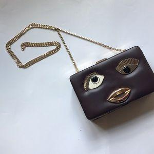 Zara cross body dress bag